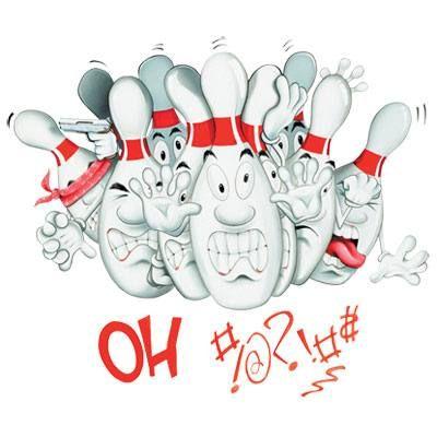 BOWLING - OH #!?!#$ Funny Adult T-shirt Tee Shirt Bowling T-shirts A very funny bowling shirt 100% cotton, preshrunk, high quality, heavyweight