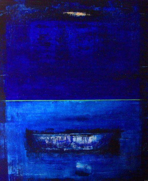 Nattferd/Night Journey 100 x120 (sold)