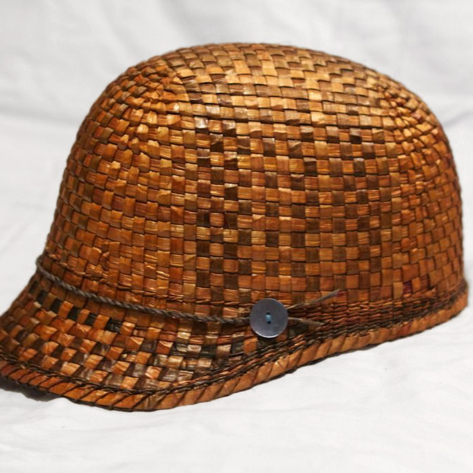 BEYOND BUCKSKIN: Designer Profile | Paul Rowley Paul Rowley, a Haida and Tlingit artisan, makes awesome hats woven from cedar bark, using traditional weaving techniques. I would wear the hell out of his hats.