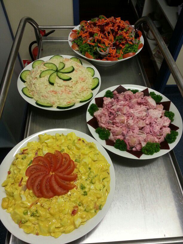 Salads for work