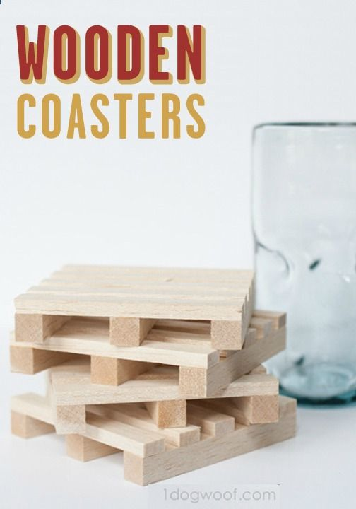 You are now a carpenter. Although these DIY Wooden Pallet Coasters are a cinch to make, you've taken lumber and turned it into something rustic and dynamic. If that isn't carpentry, then I don't know what is—except maybe laying carpet.