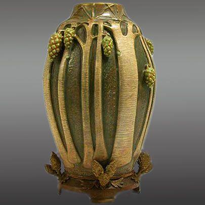 405px-405px-Art-Nouveau-pottery-vase-with-bronze-mount.jpg