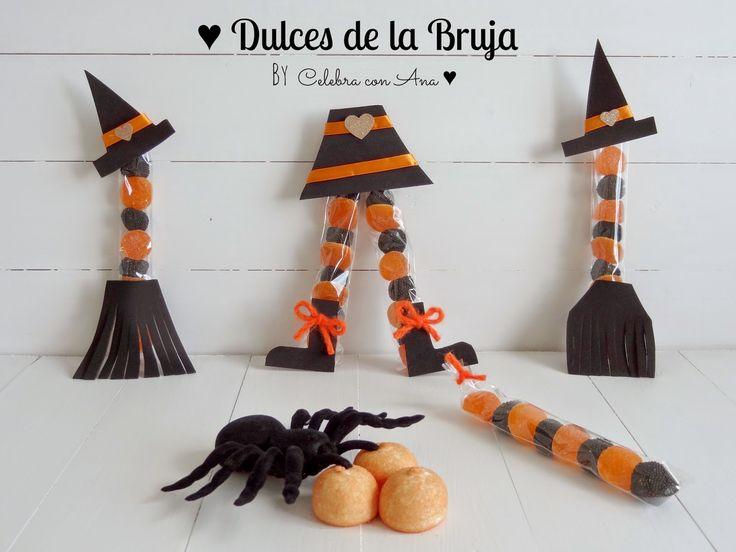 82 best images about arreglos con dulces on pinterest - Ideas para hacer en halloween ...