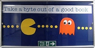 """Pac-Man Bulletin Board: I could re-work this, putting new TEKS on the """"ghost"""" like things and changing them up during the year."""