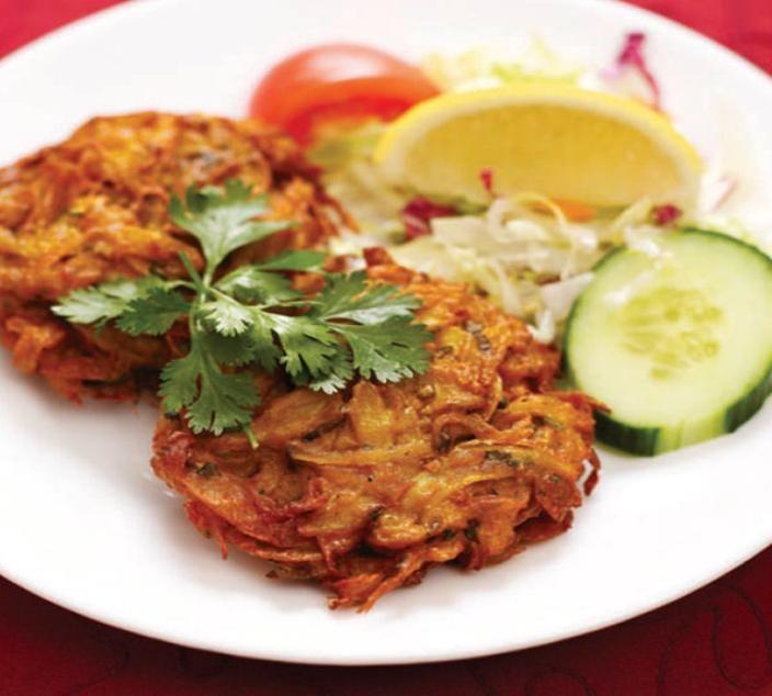 Easy Onion Bhaji Recipe like the vegetable nests at Trader Joe's!