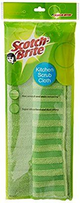 Scotch-Brite Kitchen Scrub Cloth (Pack of 1)(Color May Vary) @ Rs.119  Amazon
