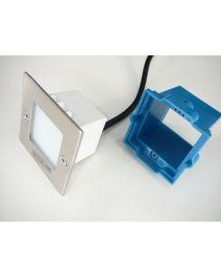 LED Vestavné svítidlo TAXI LED9KW čtverec