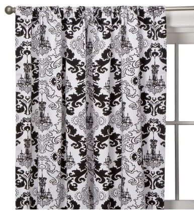 White Curtains black and white curtains for bedroom : 17 Best images about Black and white bedroom on Pinterest ...