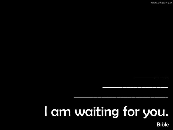 I am waiting for you. ~Bible #ShriPrashant #Advait #bible #jesus #god #wait #love #call #life #grace #gratitude Read at:- prashantadvait.com Watch at:- www.youtube.com/c/ShriPrashant Website:- www.advait.org.in Facebook:- www.facebook.com/prashant.advait LinkedIn:- www.linkedin.com/in/prashantadvait Twitter:- https://twitter.com/Prashant_Advait