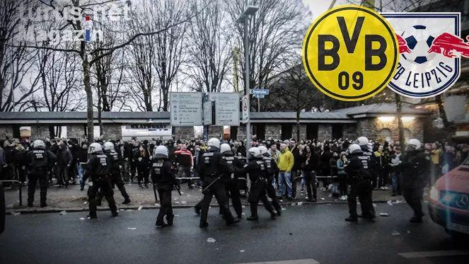 Eingesetzter Polizist verrät in BILD | So brutal gingen die BVB-Ultras auf die RB-Fans los