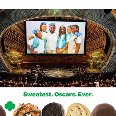 Girl Scout Blog: Girl Scouts make an unforgettable appearance at the 2016 #Oscars