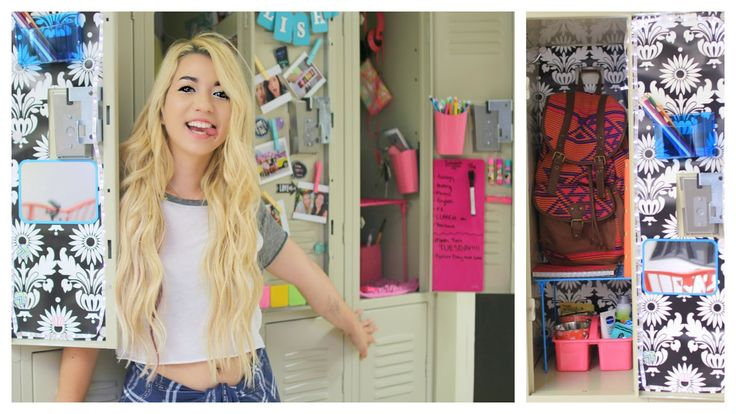 Back To School: DIY Locker Organization & Decorations! Tumblr Inspired