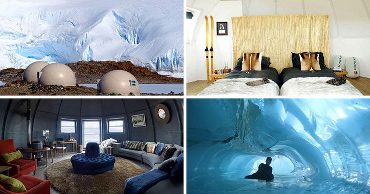 GLAMPING IN ANTARCTICA // White Desert is a tour company whose mission is to…