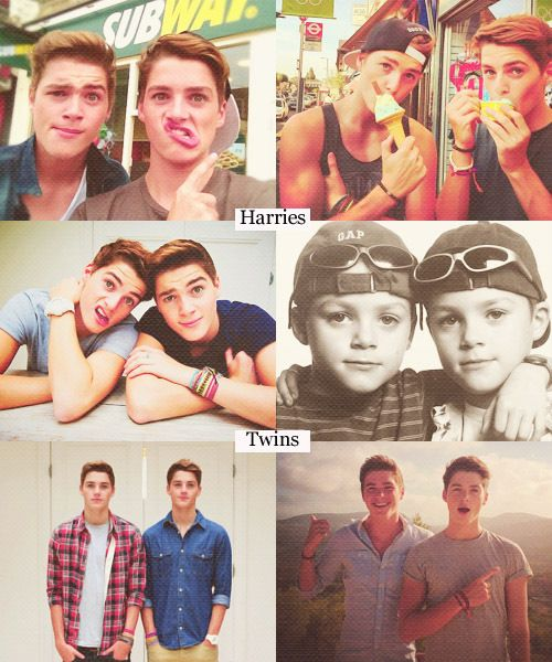 The Harries twins ... So glad God saw fit to make two of them :)