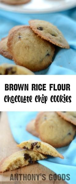 Brown Rice Flour Chocolate Chip Cookies – Anthony's Goods