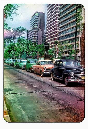 Mexico City 1950s