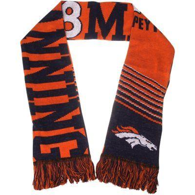 Peyton Manning Denver Broncos Player Scarf - Orange