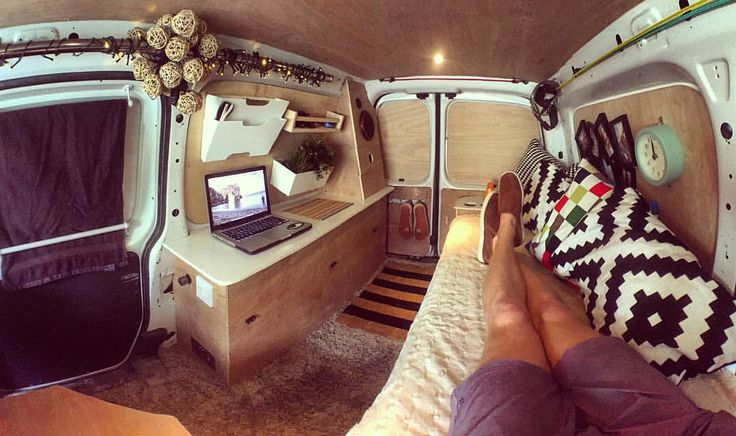 Camper van layout