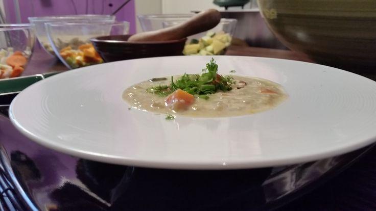 Un abbraccio d'amore: Zuppa d'Orzo al Latte di Mandorla on http://abbabbaFOOD.com