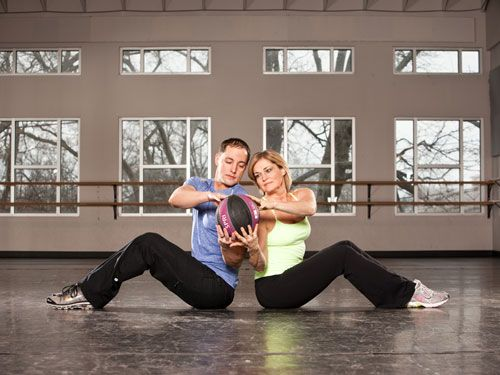 8 Fun Ways to Get Fit Together  Research shows pairing up (particularly with a partner who challenges you) makes you push yourself harder. Join fitness forces with that special someone using tips and tricks from American Council on Exercise (ACE) exercise physiologist Jessica Matthews.      Read more: Exercise With a Partner - Workouts for Couples - Good Housekeeping