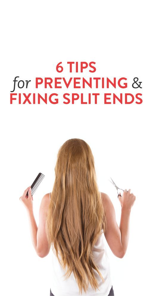 6 ways to prevent and fix split ends // via @bustledotcom