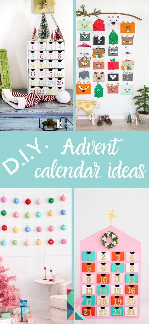 Fun And Festive Diy Advent Calendar Ideas Kaleidoscope Living Advent Calendars For Kids Diy Advent Calendar Christmas Advent Calendar Diy