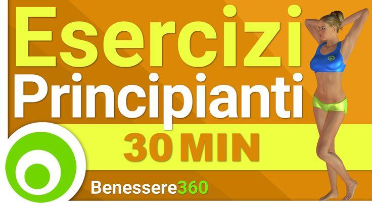 Esercizi per Principianti - Allena Tutto il Corpo in 30 Minuti