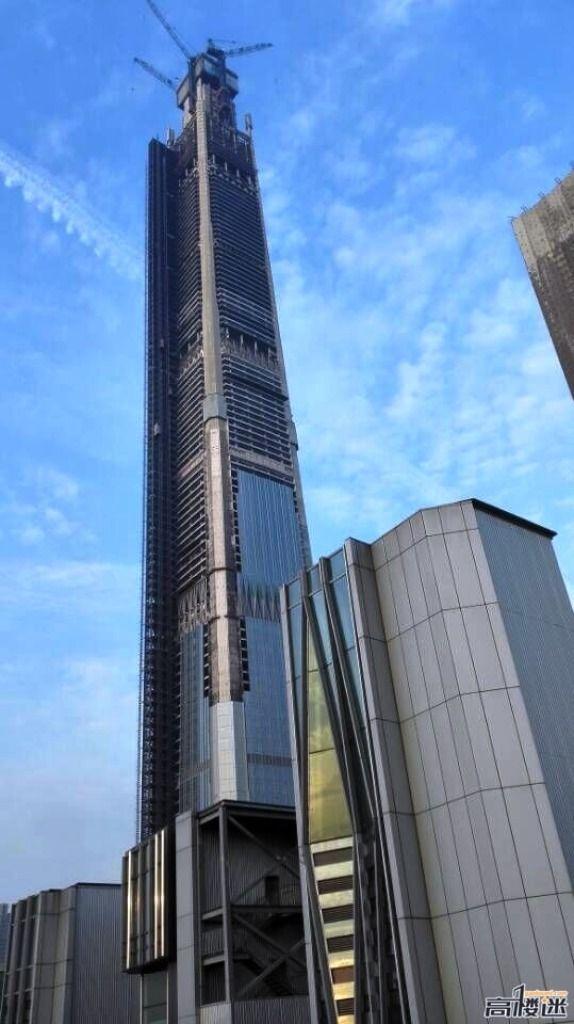 TIANJIN   Goldin Finance 117   597m   1957ft   117 fl   U/C - Page 96 - SkyscraperCity