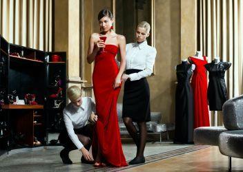 Olga Kurylenko fashion shoot wallpaper