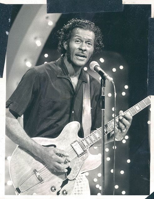 Chuck Berry    The Tonight Show 1973 http://www.flickr.com/photos/the_first_rays/6006081207/in/photostream/