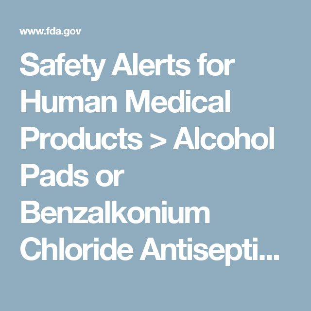 Safety Alerts for Human Medical Products > Alcohol Pads or Benzalkonium Chloride Antiseptic Towelettes by Foshan Flying Medical Products: FDA Alert -   Lack of Sterility Assurance and Other Quality Issues
