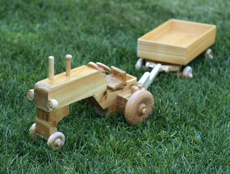 Wooden Toys For Boys : Images about tractor toys on pinterest