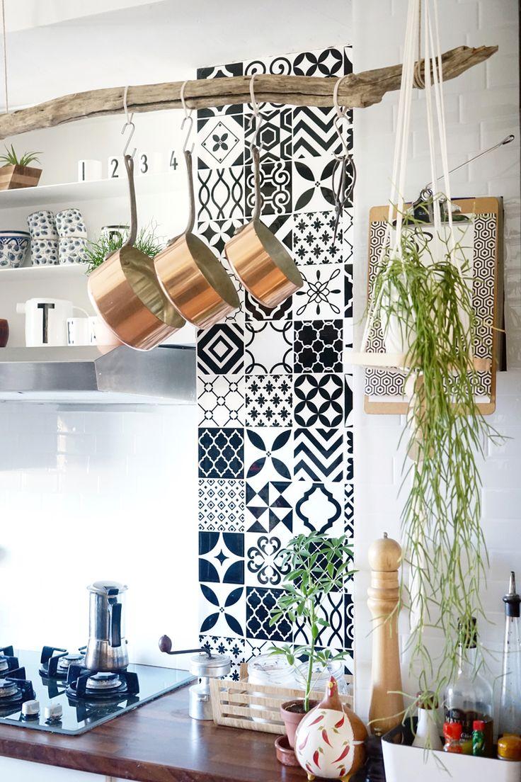 Les Meilleures Idées De La Catégorie Carrelage Vintage Sur - Carrelage mural cuisine avec motifs pour idees de deco de cuisine