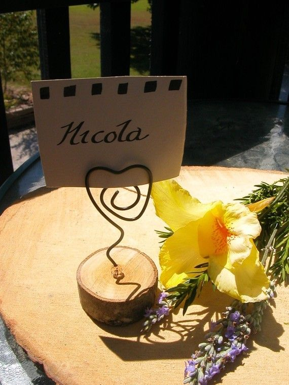 25   Table/ Place / Name card Holders  by Clareensquirkycorner, $49.75