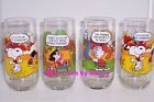 McDonald's Camp Snoopy glasses, 1980s.