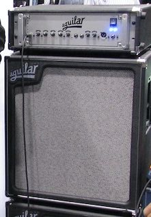 Aguilar DB 751 975W Bass Amp Head   on one of those nice light 410 cabs