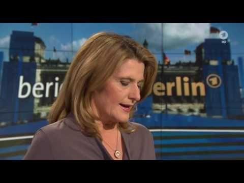Bundesaußenminister Sigmar Gabriel im Bericht aus Berlin zu seiner USA -...