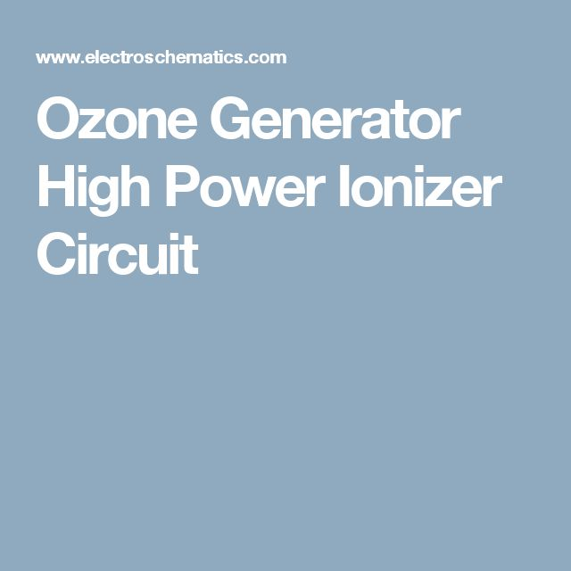eb81a2b9f936071cc7e807c0fb9e0244 the 25 best ozone generator ideas on pinterest water  at fashall.co