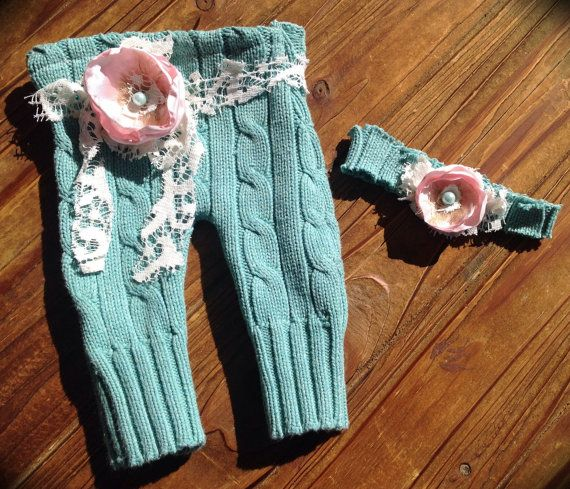 Newborn Girls Photo Prop Upcycled Sweater by FunkyJunkyPeacock, $19.99