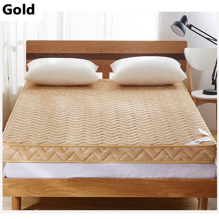2016 New Style Fashion Gold/Blue Thick Warm Single Or Double Student Children Guesthouse  Hotels  Mattress Bedding