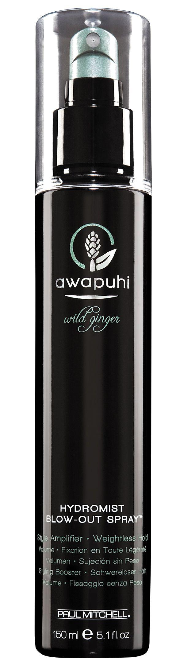 HydroMist Blow-Out Spray™, per capelli visibilmente più sani e setosi. Spray volumizzante a tenuta soft.