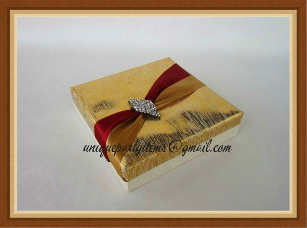 Wedding Return Gift Message : Designer Return Gift Boxes for weddings and all other occasions. Plz ...