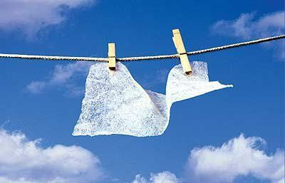 No joke. We received this the other day in our mailbox and had to share. While our used dryer sheets have often, unexpectedly, freshened our garbage can, we thought that was the extent of their usefulness. Looks like we were wrong. Here are 20 other ways they can be put to good use, after they've taken a spin through your dryer cycle...