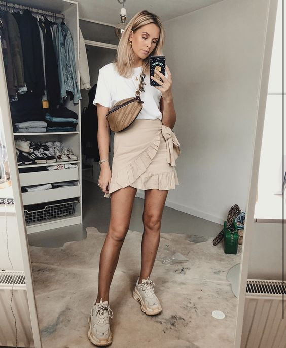 10 Façons de porter la jupe enveloppe