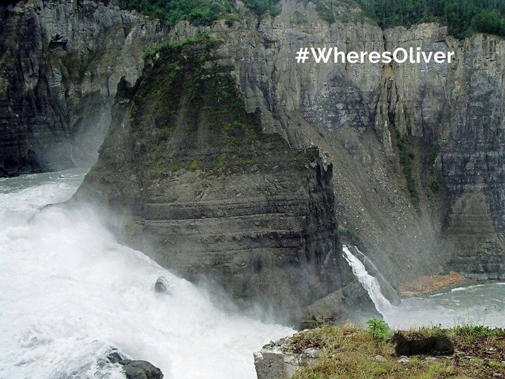 National Geographic ranks a trip to the Nahanni National Park Reserve (Nah?a Dehé) among its Top 20 Tourism Adventures in the World. The drop of Nájljcho (Virginia Falls) is twice the height of Niagara Falls. Oliver is looking for some adventure. Find out more at: http://bit.ly/2oJxa7x — at Nahanni National Park Reserve.