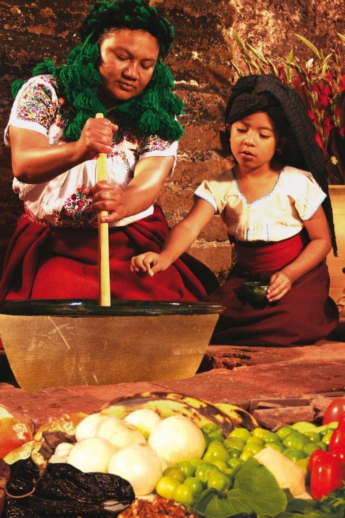 Old style cooking Oaxaca, México // Cocina antigua en Oaxaca, México