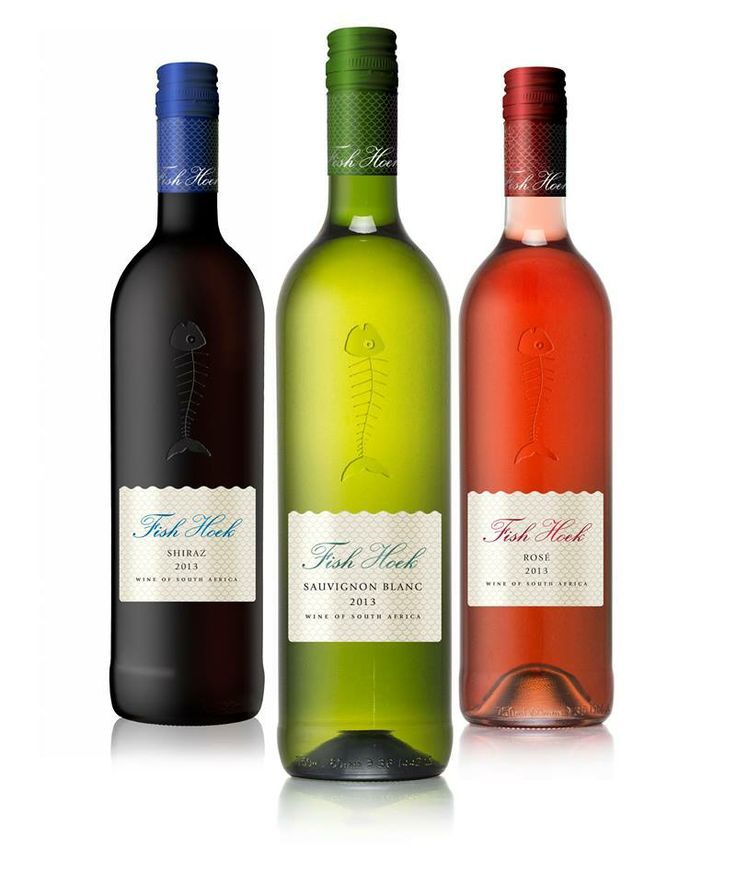 Our new FishHoek wine labels