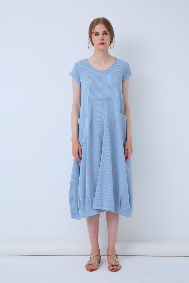 Tirelli - 18A80113 Patch Pocket Dress (More Colours Available)