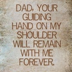 You may not be where I can see you Dad but you are close to me everyday. I am where I am today because of you. Keep shining over me and answering my prayers. Happy Fathers Day. All my love,  Judith xx