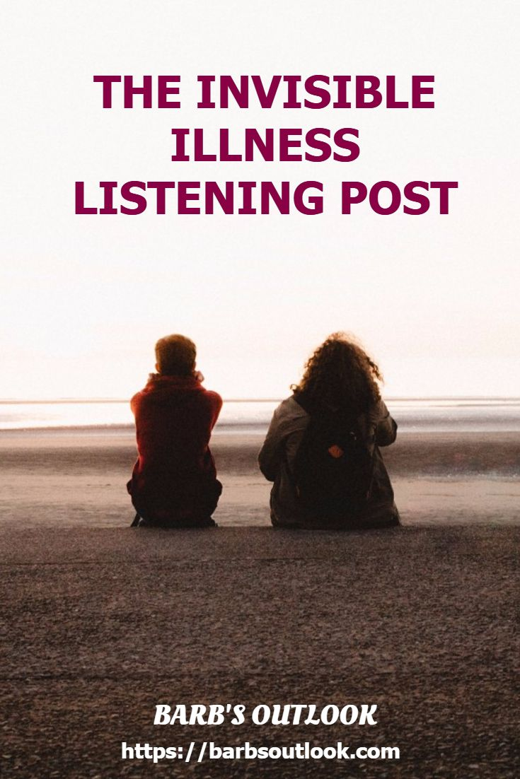 Chronic Illness, Things I love, Quotes, Family Life, Recipes and info on The Invisible Illness Listening Post https://barbsoutlook.com/the-invisible-illness-listening-post/